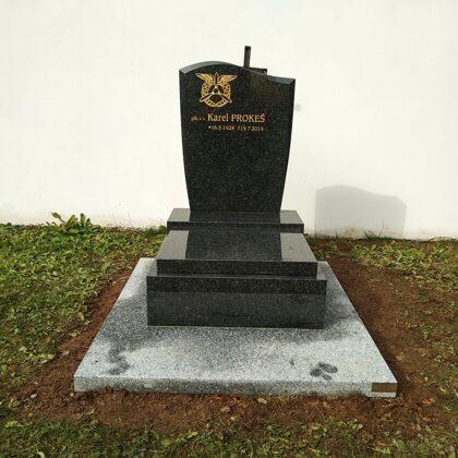 Vzor č. 49 - Urnový pomník 60x70 Impala